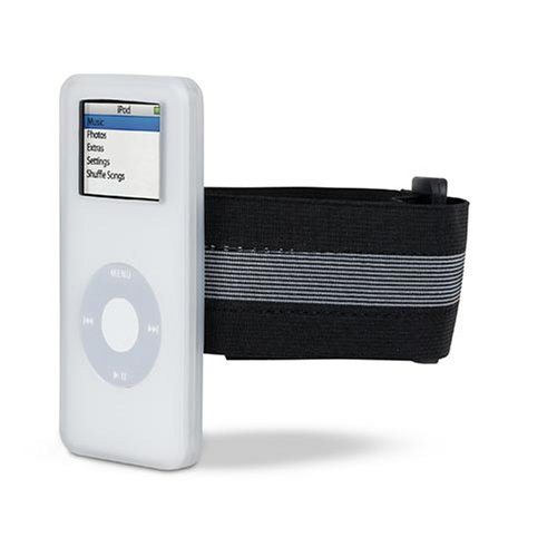 Belkin Sports Sleeve Case with Armband for iPod nano 1G, 2G (White) ()