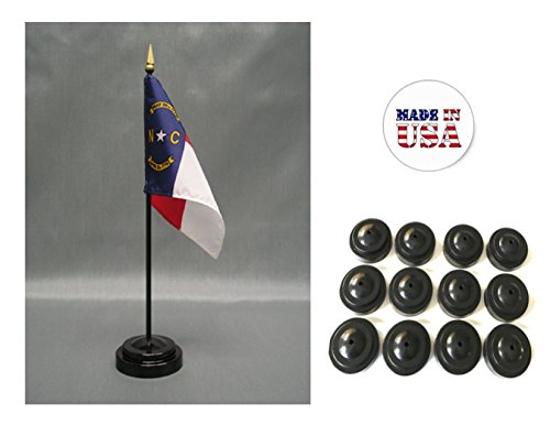 Made in the USA!! Box of 12 North Carolina 4