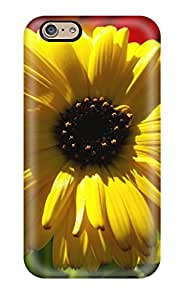 Best For Iphone 6 Tpu Phone Case Cover(yellow Calendula Pot Marigold) 9197687K17585578