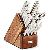 Wusthof Gourmet 16 Piece White Handle Block Set 8916