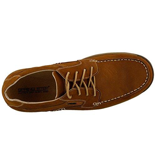 Fjær Trinn Menn Menns Duncan Nautisk Skoen Medium Brun