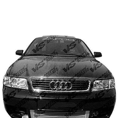 02 Carbon Fiber Oem Hood - VIS 98-02 Audi A4/S4 Carbon Fiber Hood OEM B5 99/00/01
