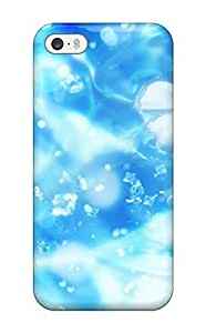 BTEZqwb1ipod touch4414tBueb PC Phone Case With Fashionable Look For Iphone ipod toucPretty Sparkling White Flowers