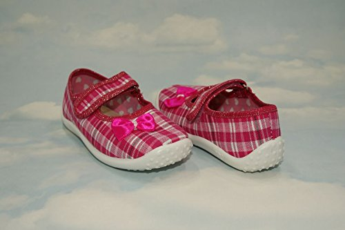 abdream, Stivaletti bambini Pink Plaid 12UK - 30EU