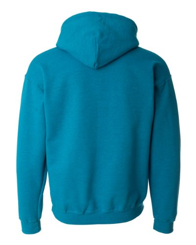 - Gildan 18500 - Classic Fit Adult Hooded Sweatshirt Heavy Blend - First Quality - Ash Grey - Large