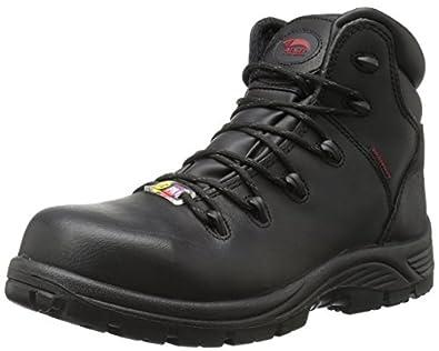 Amazon.com Avenger Safety Footwear Menu0026#39;s 7223 Waterproof PR Comp Toe EH Work Boot Industrial ...