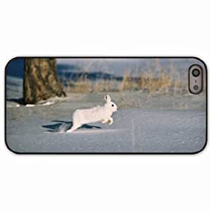 Case For Samsung Galaxy S3 i9300 Cover Black Hardshell Case snow trees rodent fur coat rabbit Desin Images Protector Back Cover