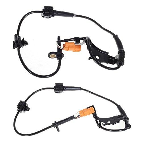 Car Wheel Speed Sensor ABS Speed Sensor for Hon-da CRV 2002 2003 2004 2005 2006 2pcs Front Right /& Left ABS Wheel Speed Sensor