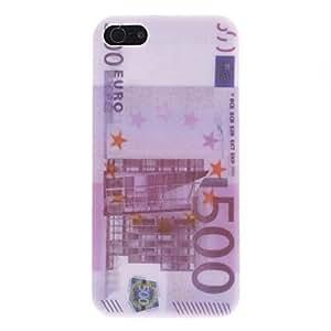 Procesamiento de dos días -€ 500 caso duro del patrón para el iphone 5/5s