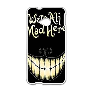 Happy We Are All Mad Here Hot Seller Stylish Hard Case For HTC One M7