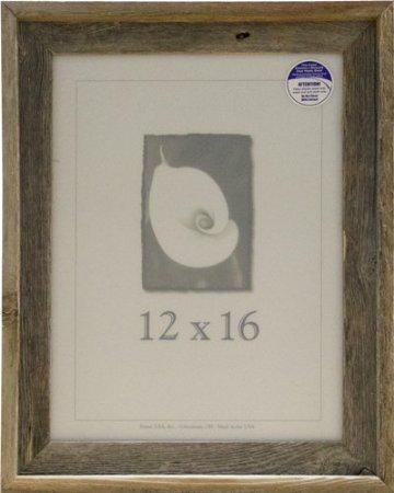 12x16 Picture Frames - Barnwood Frames