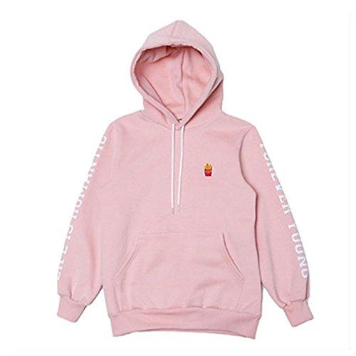 Don Hoody - Chic Dona JIN Cap Hoodie Sweatershirt Bangtan Boys Pink Color Pullover EXID HANI Sweatshirts bts Gift (Jin Finger Ring)