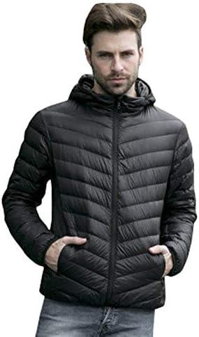 CHARTOU Men`s Hooded Packable Ultra Lightweight Puffer Short Down Anorak Jacket / CHARTOU Men`s Hooded Packable Ultra Lightweight Puffer Short Down Anorak Jacket