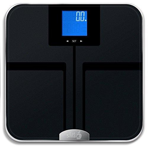 EatSmart Precision GetFit Digital Body Fat Scale w/ 400 lb. Capacity Auto - 12.5