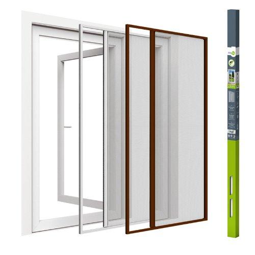Insektenschutz Türgitter Fliegengitter Mückengitter | Rollo | easy life | 160 x 220 cm | weiß