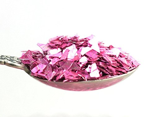 Pastel Rose Authentic Imported German Super Shard Glass Glitter - Largest Grain Size - SSG-Pastel R