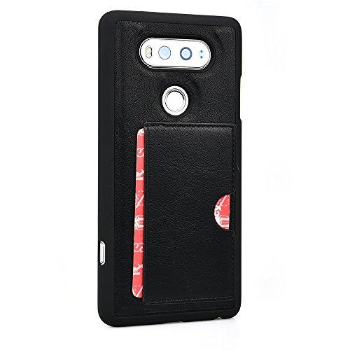 - Kroo Slim Wallet Case for LG V20 - Black
