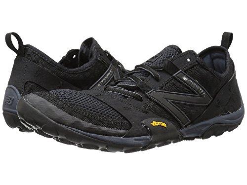(ニューバランス) New Balance メンズランニングシューズ?スニーカー?靴 Minimus 10v1 Black/Silver 10.5 (28.5cm) D - Medium