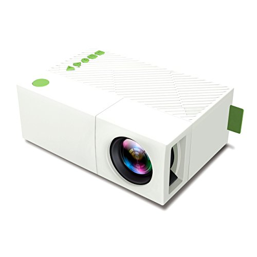 Deeplee dp310 mini portable projector led pocket for Small projector for laptop