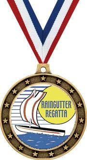 Raingutter Regatta Gold Medals - 2 1/2