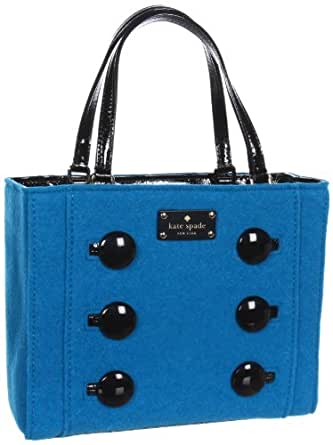 Kate Spade New York Pilgrim Hill-Quinn  Tote,Turquoise,One Size