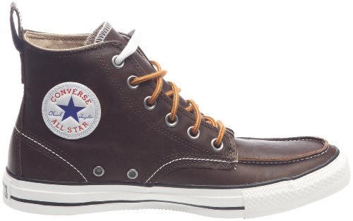 Converse CONVERSE CT Classic Boot Hi Chocolate All Star Classic - Zapatillas de cuero para hombre, color negro, talla 44,5 Marrón