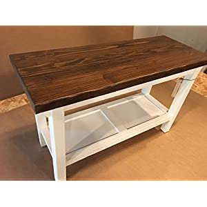 """Hallway / Mud Room / Foyer Bench In Your Choice Of Color And Size 30"""" - 46"""""""