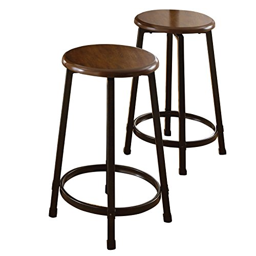 Steve Silver Company Rebecca Counter Stool, Set of 2