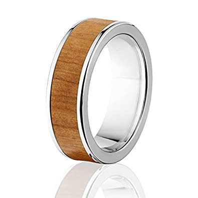 New Olive Wood Rings Exotic Hard Wood Wedding Band W Comfort Fit