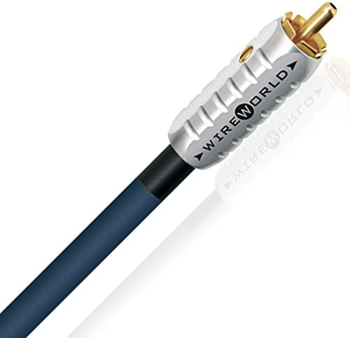 4 Meters WIREWORLD Luna 8 Stereo Subwoofer Cable//RCA to RCA