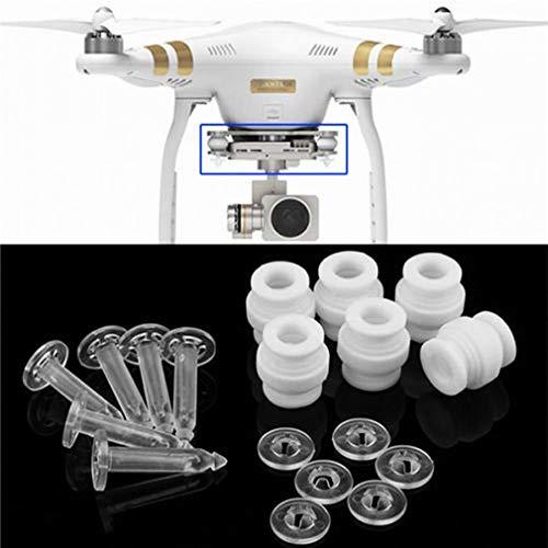 Price comparison product image Camera Gimbal Damping Rubber Balls & Anti-Drop Pins Kit for DJI Phantom 3