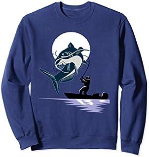 Birthday Gift Catfish Fishing Sweatshirt - Fishing Sweater - Fishing  Short and Long Sleeve Shirt/Hoodie