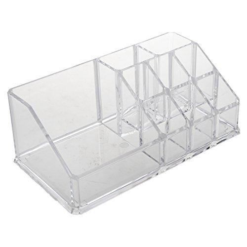 Acryl Crystal - TOOGOO(R) Cosmetic Make Up Crystal Jewelry Storage Box 9 F¡cher Acryl