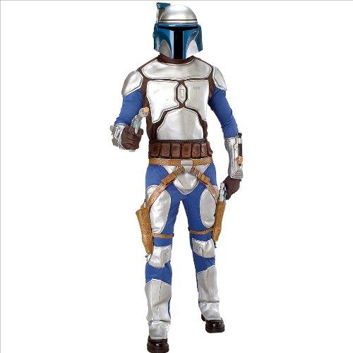 Jango Fett Costumes (Star Wars Classic Deluxe Jango Fett Adult Costume Size: Standard)