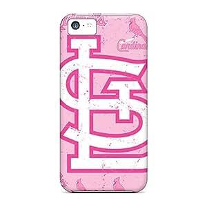 Iphone 5c MkT9546oLSK Custom Lifelike St. Louis Cardinals Skin Protective Cell-phone Hard Covers -MansourMurray