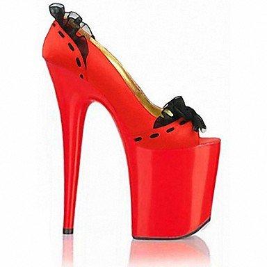 Zapatillas Zapatillas US11 EU43 5En amp;Amp; 5 Summer Ruby Flops Blanco Pvc Mujer Talón Party Stiletto CN45 De amp;Amp; Flip Noche Crystal RTRY UK9 5 amp;Amp; Negro Más dYHn1gUd