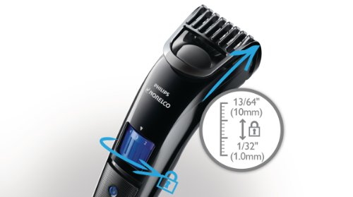 philips norelco beardtrimmer 3100 with adjustable length settings model qt4000 42 philips. Black Bedroom Furniture Sets. Home Design Ideas