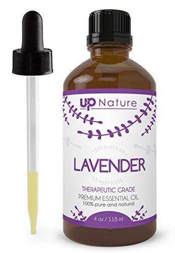 Lavender Essential Oil - Pure, Undiluted, Unfiltered, Non-GMO -...