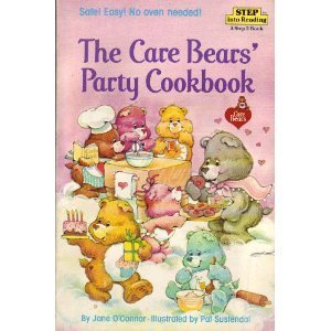 Care Bears Party Cookbook Reading