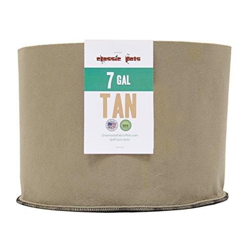 Pack Gallon Tan Grassroots Fabric