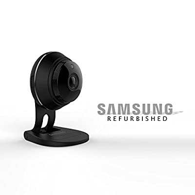 Samsung SNH-V6414BMR SmartCam HD Plus 1080p Wi-Fi IP Camera, Black (Manufacturer Refurbished)