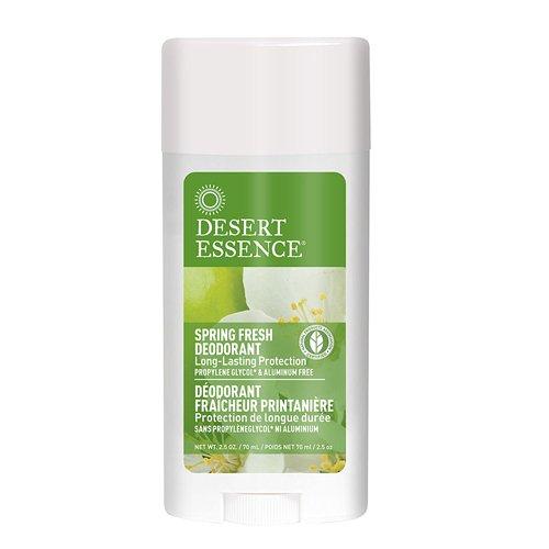 UPC 718334332314, Desert Essence Deodorant, Spring Fresh, 2.5 Ounce