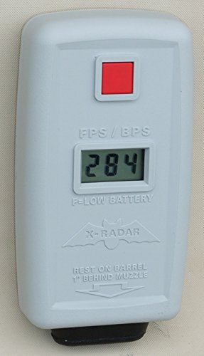Custom Chronograph X Radar Deluxe Handheld Airsoft Chronograph (Air Chronograph)