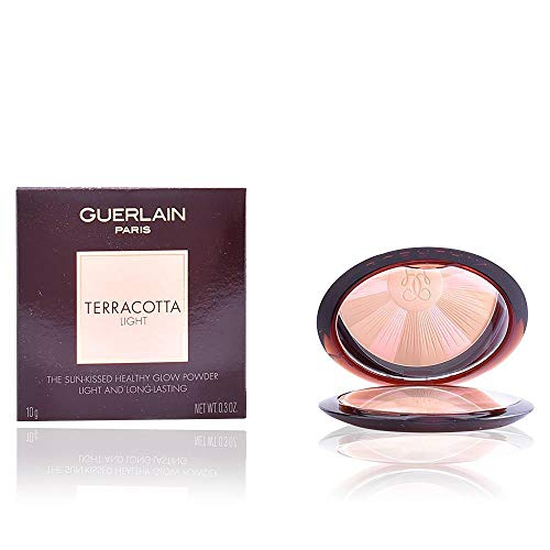 Guerlain Terracotta Light The Healthy Glow Powder 03 Natural Warm for Women, 0.3 Ounce
