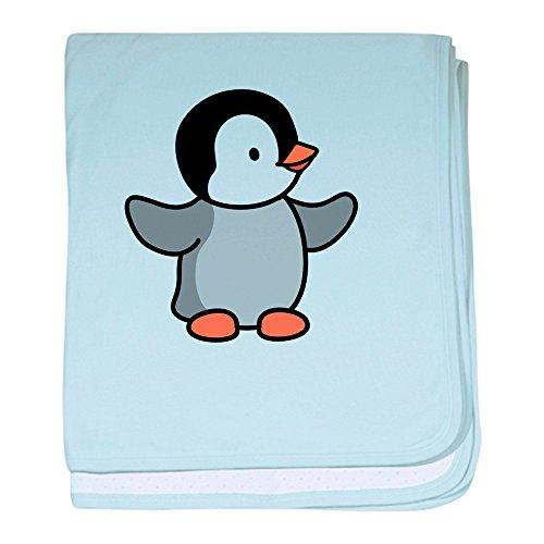 CafePress Penguin blanket Blanket Newborn