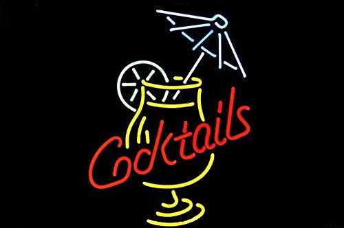 Cocktail And Martini Umbrella Neon Sign 20