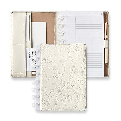 - Levenger Circa Filigree Foldover Notebook