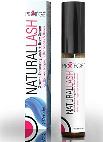 BLOWOUT! Eyelash Growth Serum - NaturalLASH - Boost Your Lashes and Brows - Natural Lash Formula for Growing Thicker Eyebrows and Longer Eyelashes - For Hair Loss Regrowth and Follicle Repair (0.17oz)