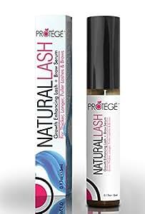 Eyelash and Eyebrow Growth Serum - NaturalLASH - Best Product for Growing Longer, Thicker Eyelashes and Bolder Eyebrows -Natural Formula (5ml)