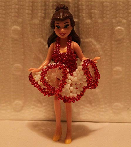 Beaded Handmade Dress For Doll Comes With Doll Marilyn Monroe-Inspired